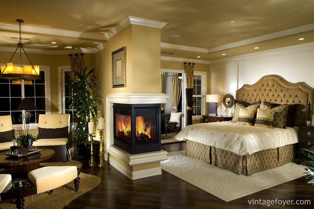 As Demands Grow With The Popularity Of Bedroom Fireplaces, More Unusual And  Unique Options Are Becoming Available. This Custom Built Fireplace Makes  The ...