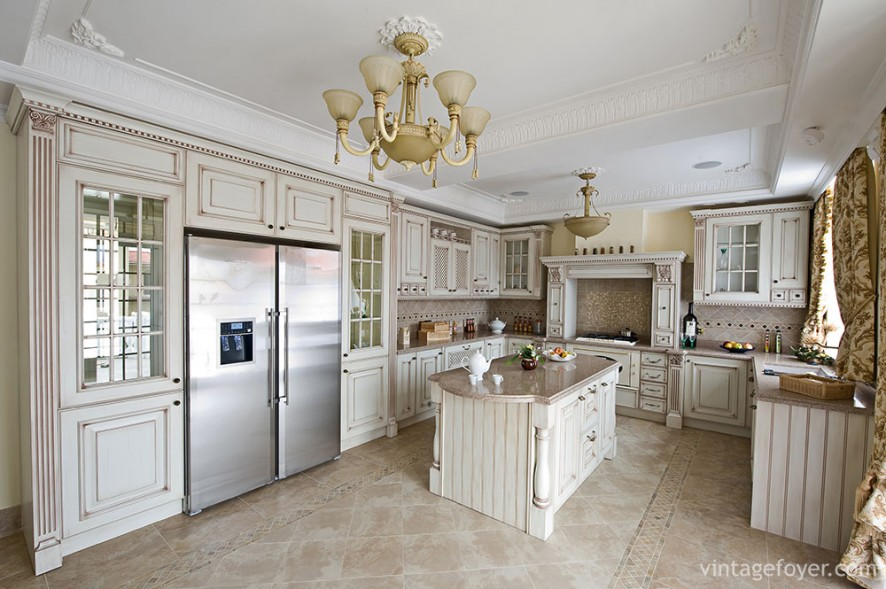 63 Wide Range of White Kitchen Designs (Photos)