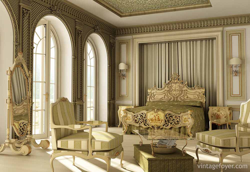 54 ways to spell luxury in master bedrooms for Victorian style master bedroom