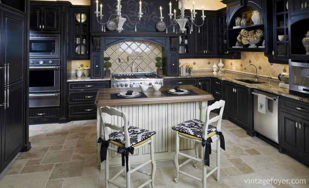 Itu0027s Easy To Create A Gothic Style Of Interior Design When Black Is Your  Most Prominent Colour. Include Lots Of Elaborate Pattern And Design With  Dramatic ...