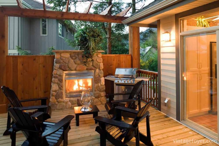summer patio barbeque summer house