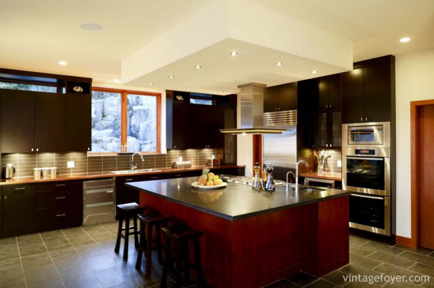 modern kitchen home interior