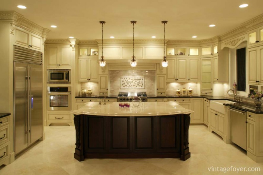 interior luxury kitchen estate home