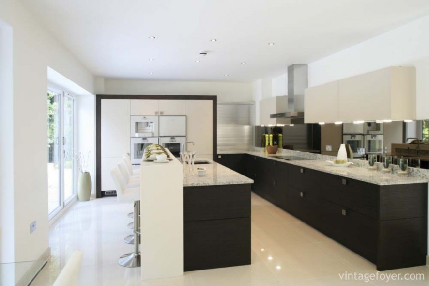 Brand new Kitchen in luxury house.