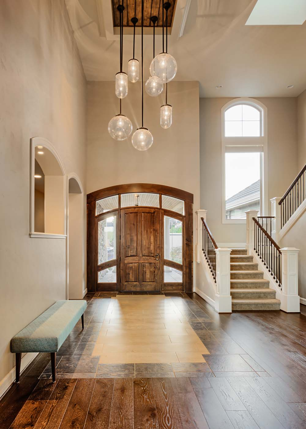 Wood Foyer Lighting : Dream foyers