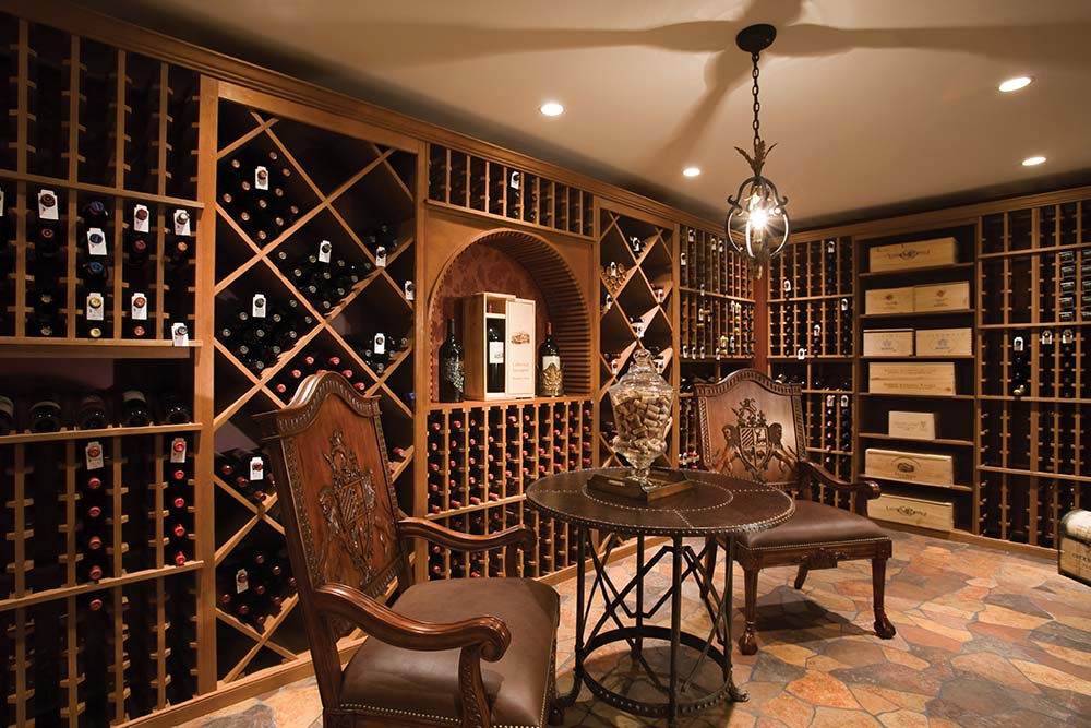 Luxury Wine Cellar : Custom luxury wine cellars photos page of