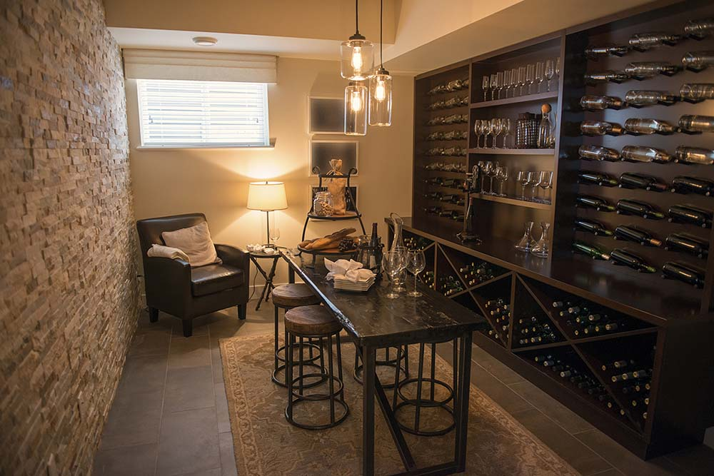 Custom luxury wine cellars 40 photos page 2 of 2 for Wine rooms in homes