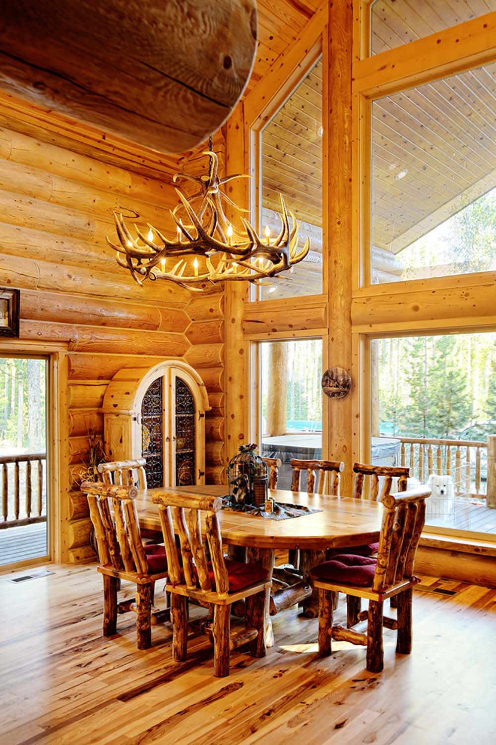 beautifully natural log home interiors page 2 of 4