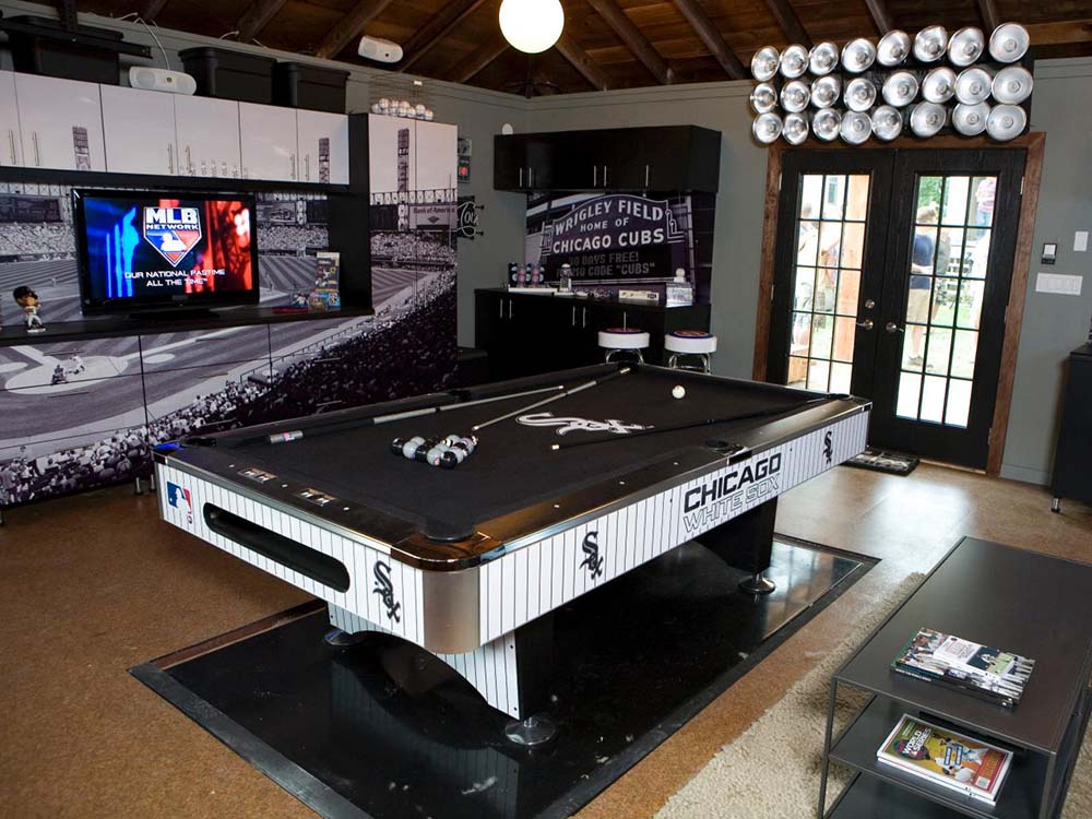 Classic Man Cave Tickets : Top five man cave necessities