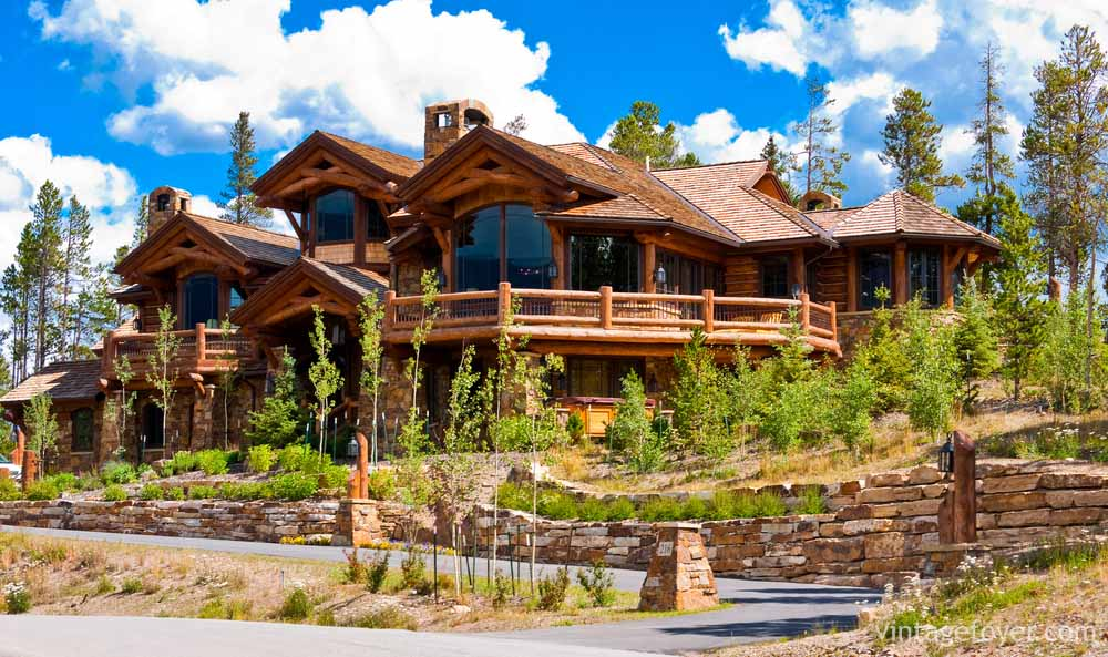 83 awe inspiring log homes cabins page 3 of 3 for Big log cabin homes